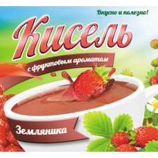 КИСЕЛЬ   АРОМАТ ЗЕМЛЯНИКА 0,220
